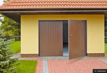 Brama dwuskrzydłowa lublin
